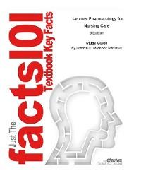 Cover Lehne's Pharmacology for Nursing Care