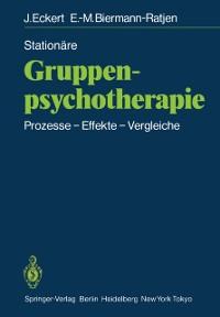 Cover Stationare Gruppen-psychotherapie