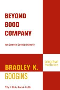 Cover Beyond Good Company