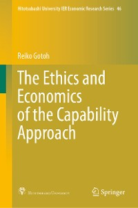 Cover The Ethics and Economics of the Capability Approach