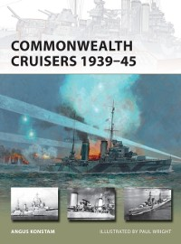 Cover Commonwealth Cruisers 1939 45