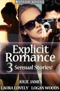Cover EXPLICIT ROMANCE - 3 Sensual Stories!