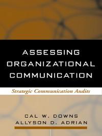 Cover Assessing Organizational Communication