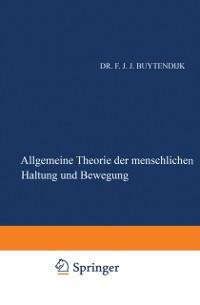 Cover Allgemeine Theorie der Menschlichen Haltung und Bewegung
