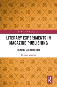 Cover Literary Experiments in Magazine Publishing