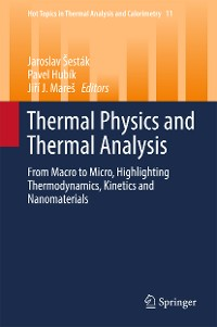 Cover Thermal Physics and Thermal Analysis