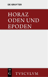 Cover Carmina / Oden und Epoden. Nach Theodor Kayser und F. O. von Nordenflycht