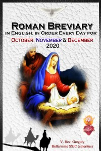 Cover The Roman Breviary in English, in Order, Every Day for October, November, December 2020