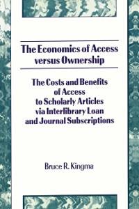 Cover Economics of Access Versus Ownership