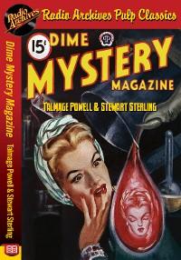 Cover Dime Mystery Magazine - Talmage Powell a