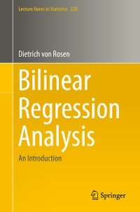 Cover Bilinear Regression Analysis
