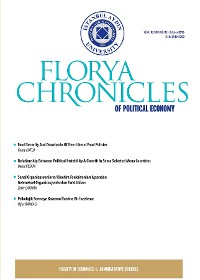 Cover Florya Chronicles of Political Economy Oct 2016