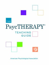 Cover The PsycTHERAPY Teaching Guide