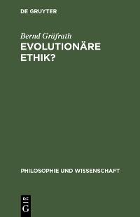 Cover Evolutionäre Ethik?