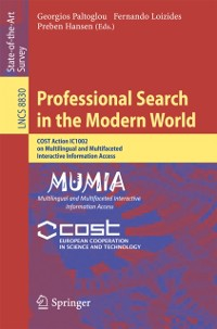 Cover Professional Search in the Modern World