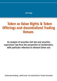 Cover Token come Diritti di Valore & Offerte a Token e Centri Commerciali Decentralizzati
