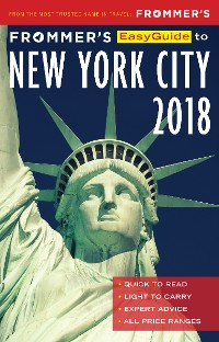 Cover Frommer's EasyGuide to New York City 2018