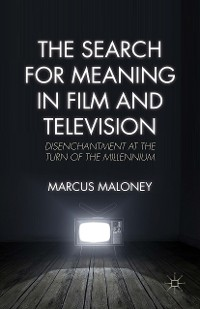 Cover The Search for Meaning in Film and Television