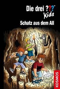 Cover Die drei ??? Kids, 88, Schatz aus dem All (drei Fragezeichen Kids)