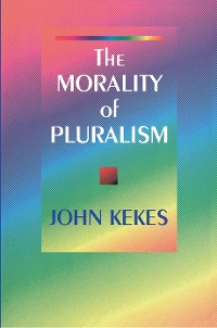Cover The Morality of Pluralism