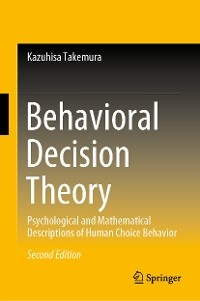 Cover Behavioral Decision Theory