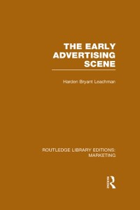 Cover Early Advertising Scene (RLE Marketing)