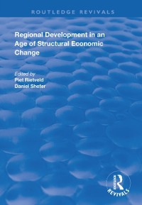 Cover Regional Development in an Age of Structural Economic Change