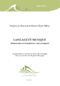 Cover Langage et musique