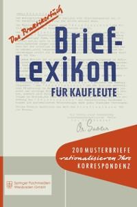 Cover Brief-Lexikon fur Kaufleute