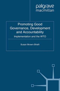 Cover Promoting Good Governance, Development and Accountability