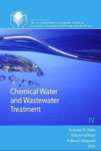 Cover Chemical Water and Wastewater Treatment IX
