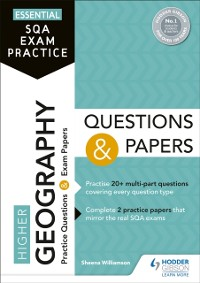 Cover Essential SQA Exam Practice: Higher Geography Questions and Papers