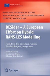 Cover DESider – A European Effort on Hybrid RANS-LES Modelling