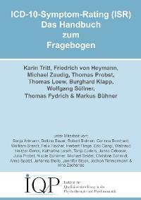 Cover ICD-10-Symptom-Rating (ISR) - Das Handbuch zum Fragebogen