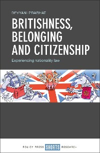 Cover Britishness, belonging and citizenship