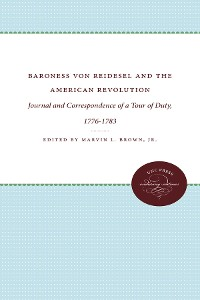 Cover Baroness von Riedesel and the American Revolution