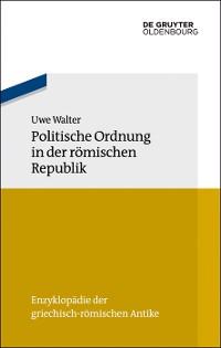 Cover Politische Ordnung in der römischen Republik