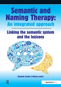 Cover Semantic & Naming Therapy:  An Integrated Approach