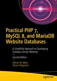 Cover Practical PHP 7, MySQL 8, and MariaDB Website Databases