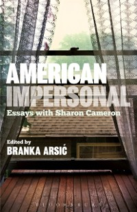 Cover American Impersonal: Essays with Sharon Cameron