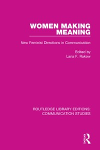 Cover Women Making Meaning