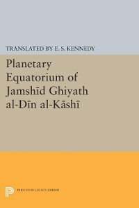 Cover Planetary Equatorium of Jamshid Ghiyath al-Din al-Kashi