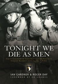 Cover Tonight We Die As Men PB