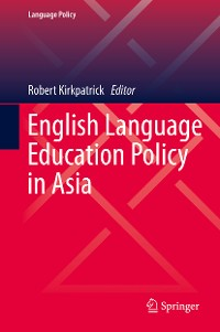 Cover English Language Education Policy in Asia