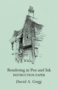 Cover Rendering in Pen and Ink - Instruction Paper
