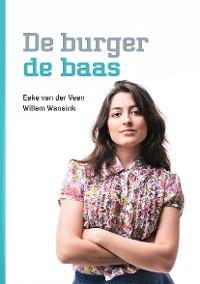 Cover De burger de baas