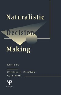 Cover Naturalistic Decision Making