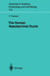 Cover Human Nasolacrimal Ducts
