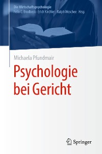 Cover Psychologie bei Gericht