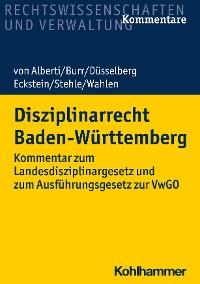 Cover Disziplinarrecht Baden-Württemberg